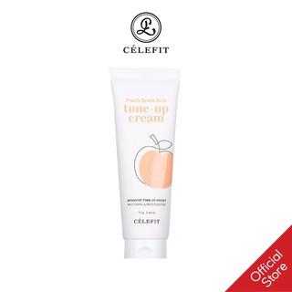 Kem Dưỡng Trắng Da Célefit Peach Beam Real Tone-up Cream thumbnail