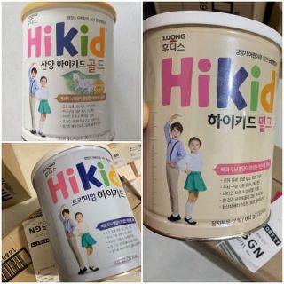 Sữa Hikid vị Vani vị Socola tách béo dê núi 600g