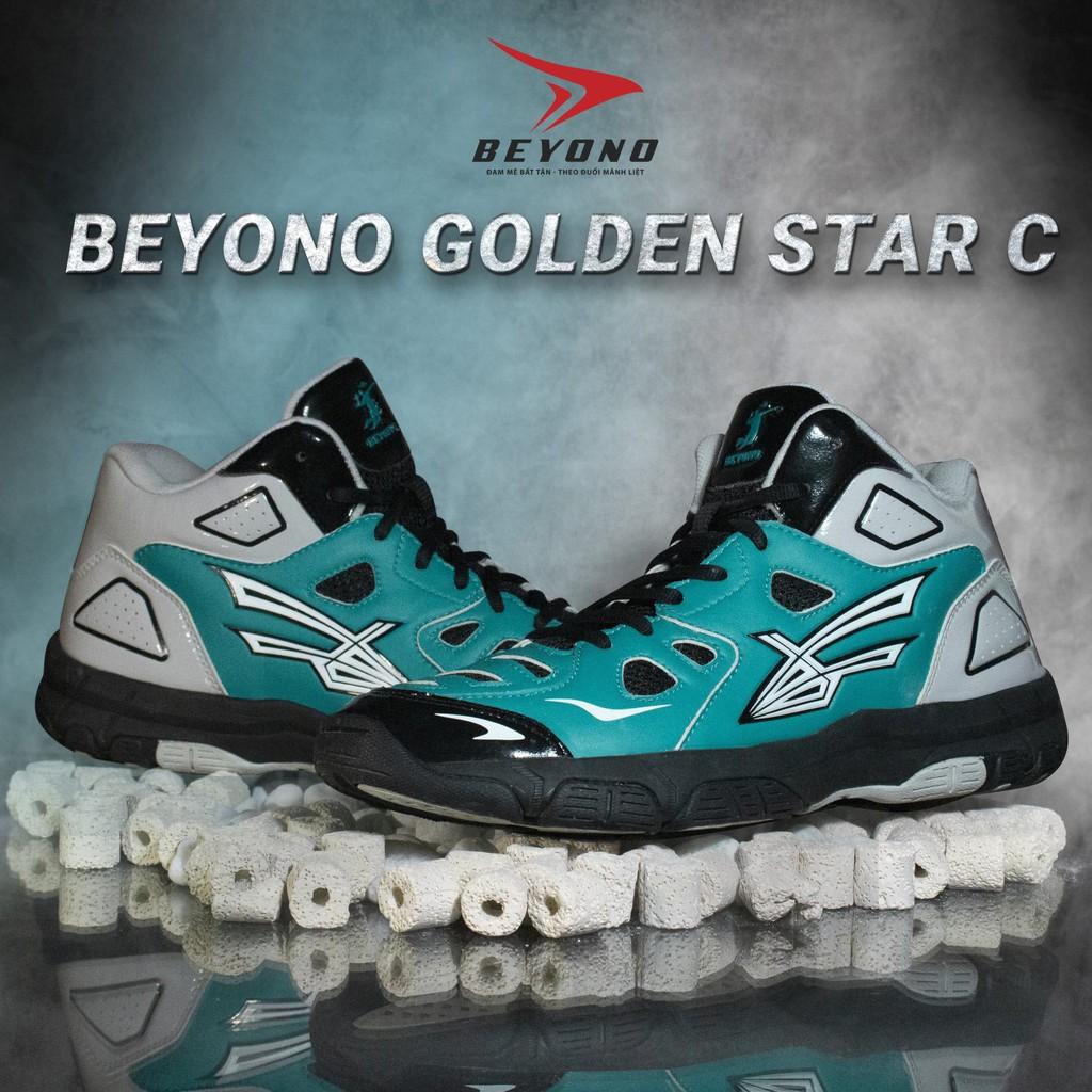 Giày Bóng Chuyền Beyono Golden C -  Green Gray