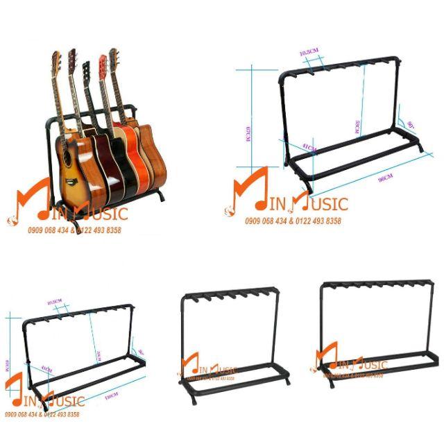 Chân để đàn guitar nhiều cây loại 5 cây để đàn guitar thùng, bass , electric