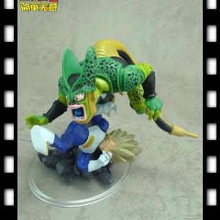 Bộ mô hình Ca Đíc vs Xên Bọ Hung trong truyện Dragon Ball