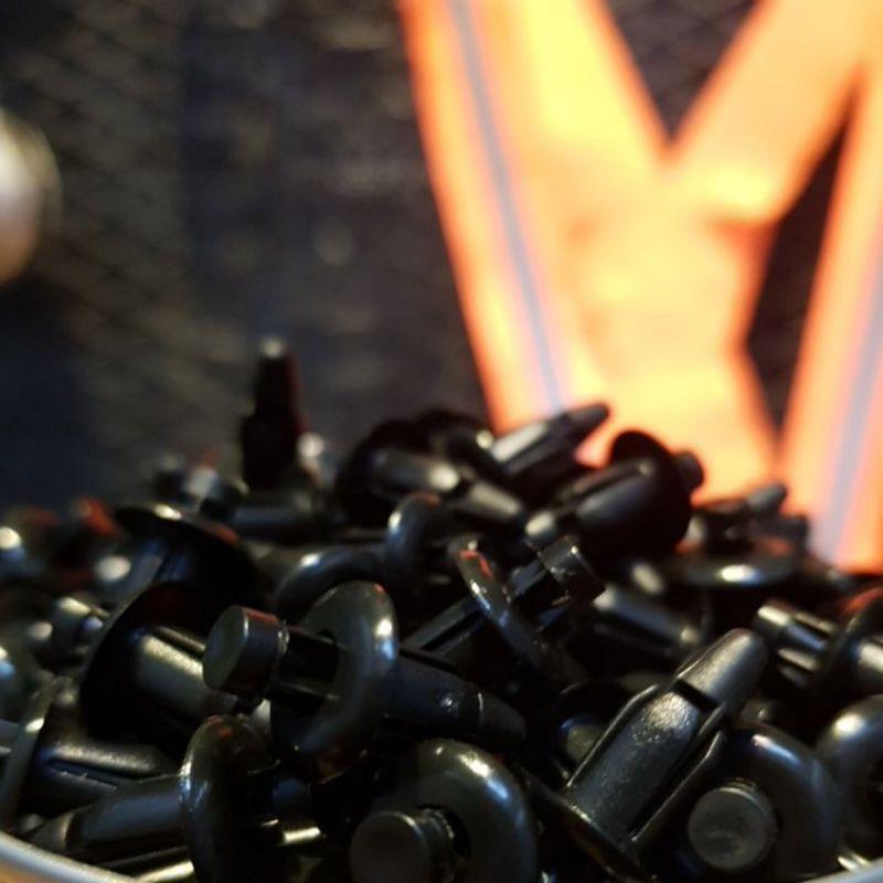 [Bộ 5 con] Ốc nhựa cài dàn áo xe máy, ốc bấm dàn áo xe máy bộ 5 con giá rẻ-- thumbnail