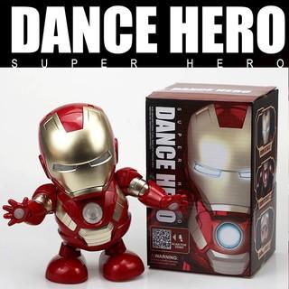 Mô hình đồ chơi nhân vật siêu anh hùng Iron Man có đèn LED