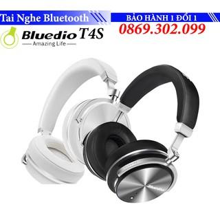 Tai Nghe OnEar Bluetooth Bluedio T4S Chính Hãng