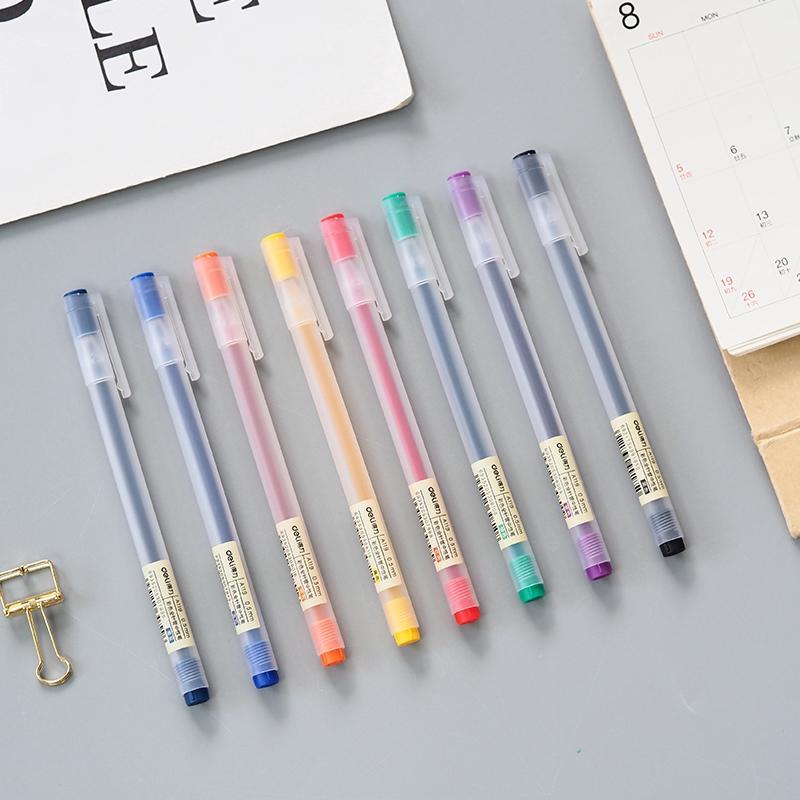 Bút Mực Gel Nhiều Màu Sắc Xinh Xắn Tiện Dụng