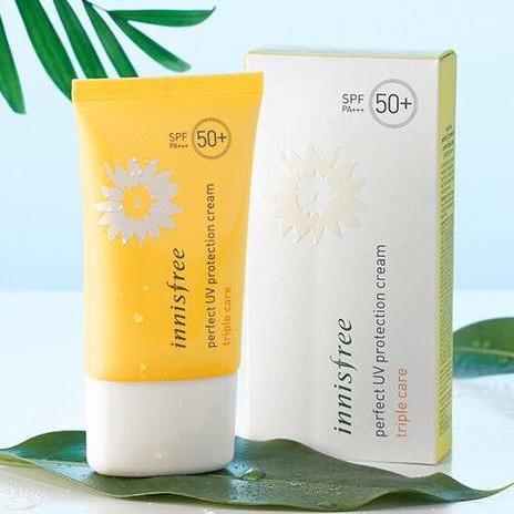 FULLSIZE Kem chống nắng Innisfree Triple Care SPF50 PA+++