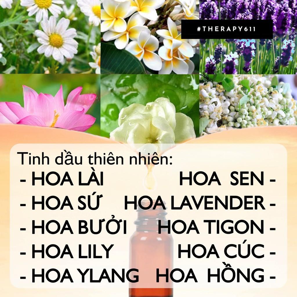 Tinh Dầu Nguyên Chất Các Loại Hoa THERAPY 10ml/50ml Thái Lan