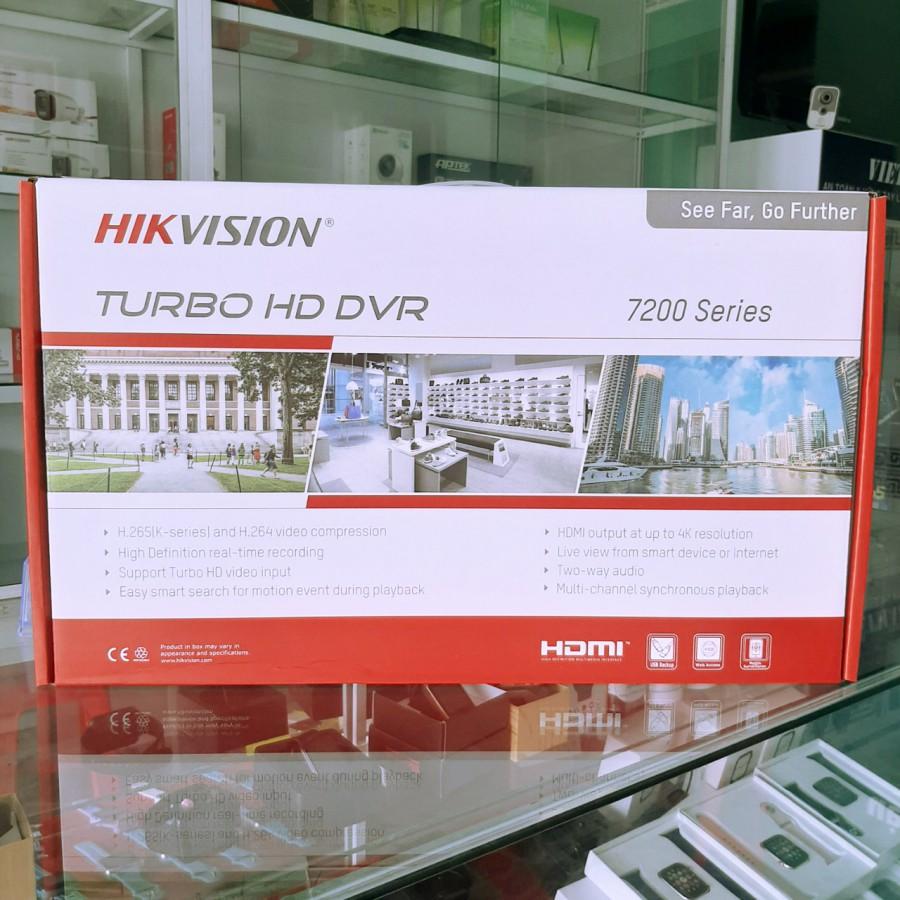 [Mã ELMIDNIGHT giảm 7% đơn 2TR] Đầu ghi hình camera ip 16 kênh Hikvision DS-7616NI-K1(B)
