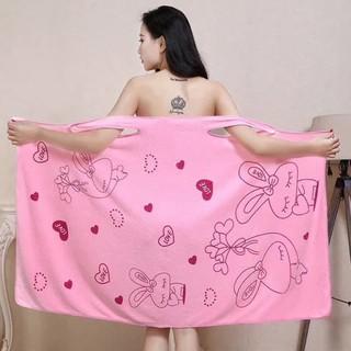 Khăn tắm, váy choàng tắm, váy đa năng [Mishop] thumbnail