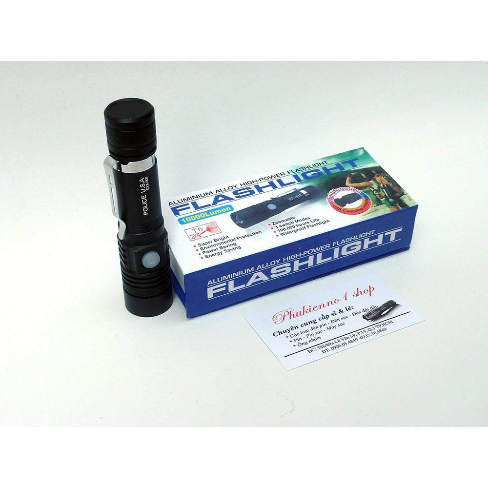 Đèn pin siêu sáng Police USA CYX-005, đèn pin siêu sáng, đèn led chống nước - 3176005 , 954277786 , 322_954277786 , 150000 , Den-pin-sieu-sang-Police-USA-CYX-005-den-pin-sieu-sang-den-led-chong-nuoc-322_954277786 , shopee.vn , Đèn pin siêu sáng Police USA CYX-005, đèn pin siêu sáng, đèn led chống nước