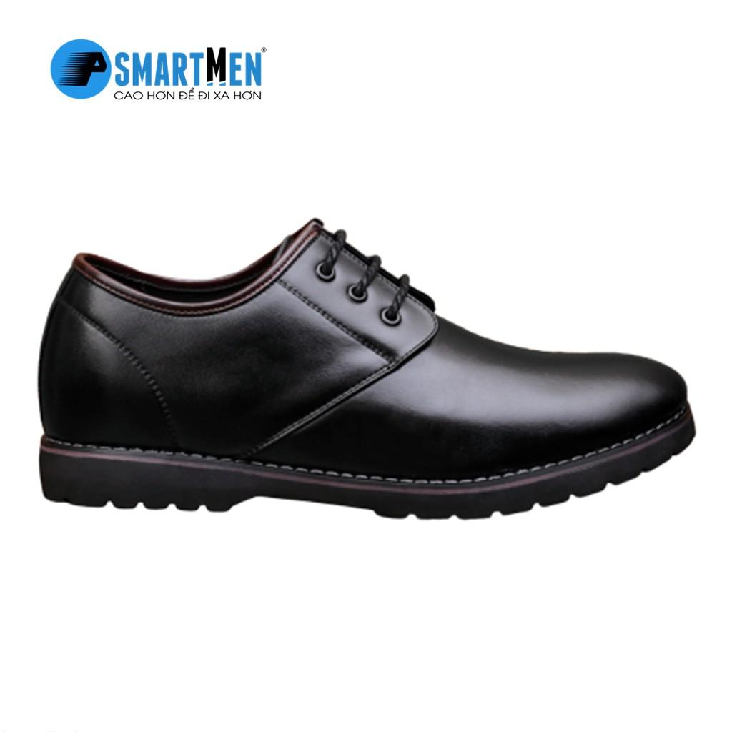 Giày da bò nguyên miếng SMARTMEN GD105 (đen)