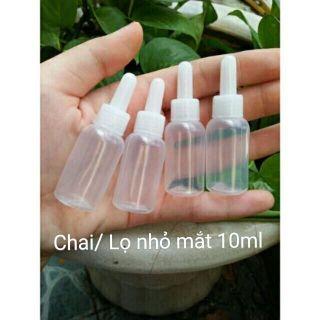 Sỉ 50 – 100 vỏ chai nhỏ mắt 10ml , chai / lọ nhỏ giọt