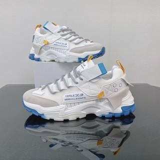 [Siêu Phẩm] [FreeShip] Giày thể thao nam, giày nam tăng chiều cao đế loang xanh PRD 0376 thumbnail