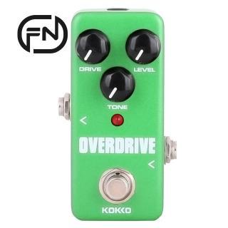 KOKKO FOD3 Mini Overdrive Electric Guitar Effect Pedal Portable True Bypass Aluminium Body Tube Overload Guitar Stompbox