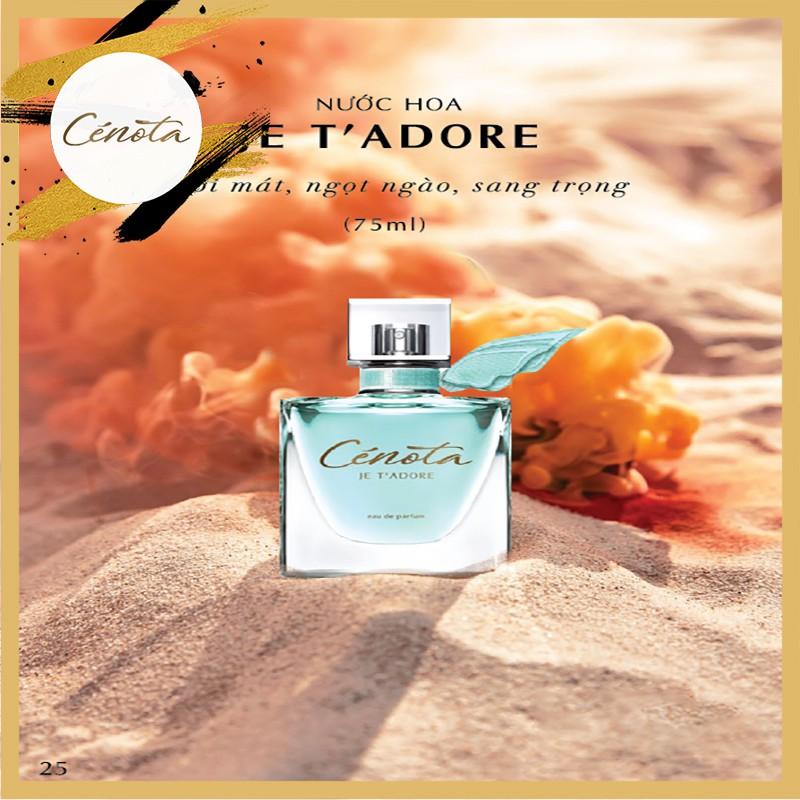 Nước hoa Pháp Cénota Je T' Adore 75ml, nước hoa Pháp hương thơm quý phái - PG01