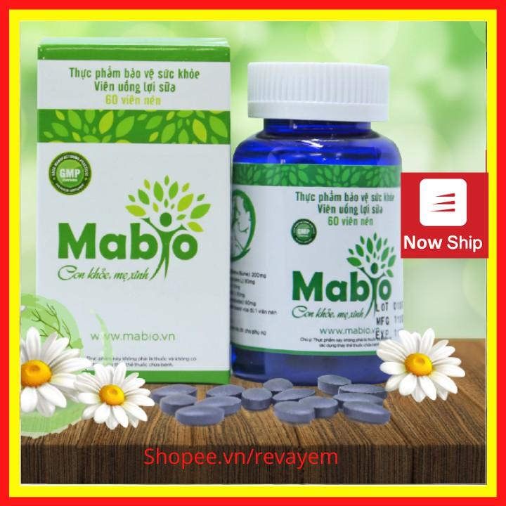 Viên uống lợi sữa Mabio - Cam Kết Chính