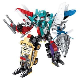 Bộ lắp ráp robot biến hình siêu khủng