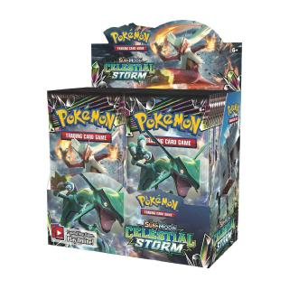 Sun&Moon CELESTIAL STORM Booster Box 36 Packs Pokemon Trading Cards Sealed English