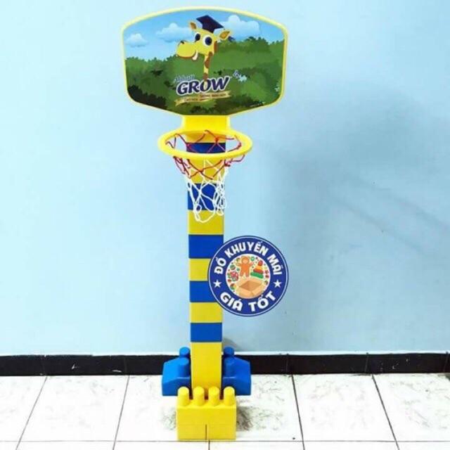 Bộ lego lắp ráp bóng rổ