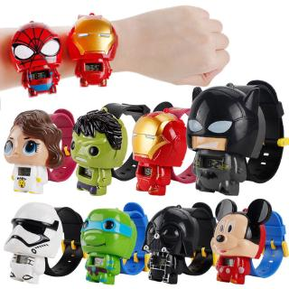 Toy Cartoon Watch HDY for Baby Multiple Color