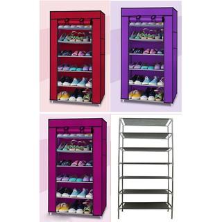 [HOT+FREE SHIP] Tủ vải đựng giày dép 1 buồng 6 ngăn (giao ngẫu nhiên màu)