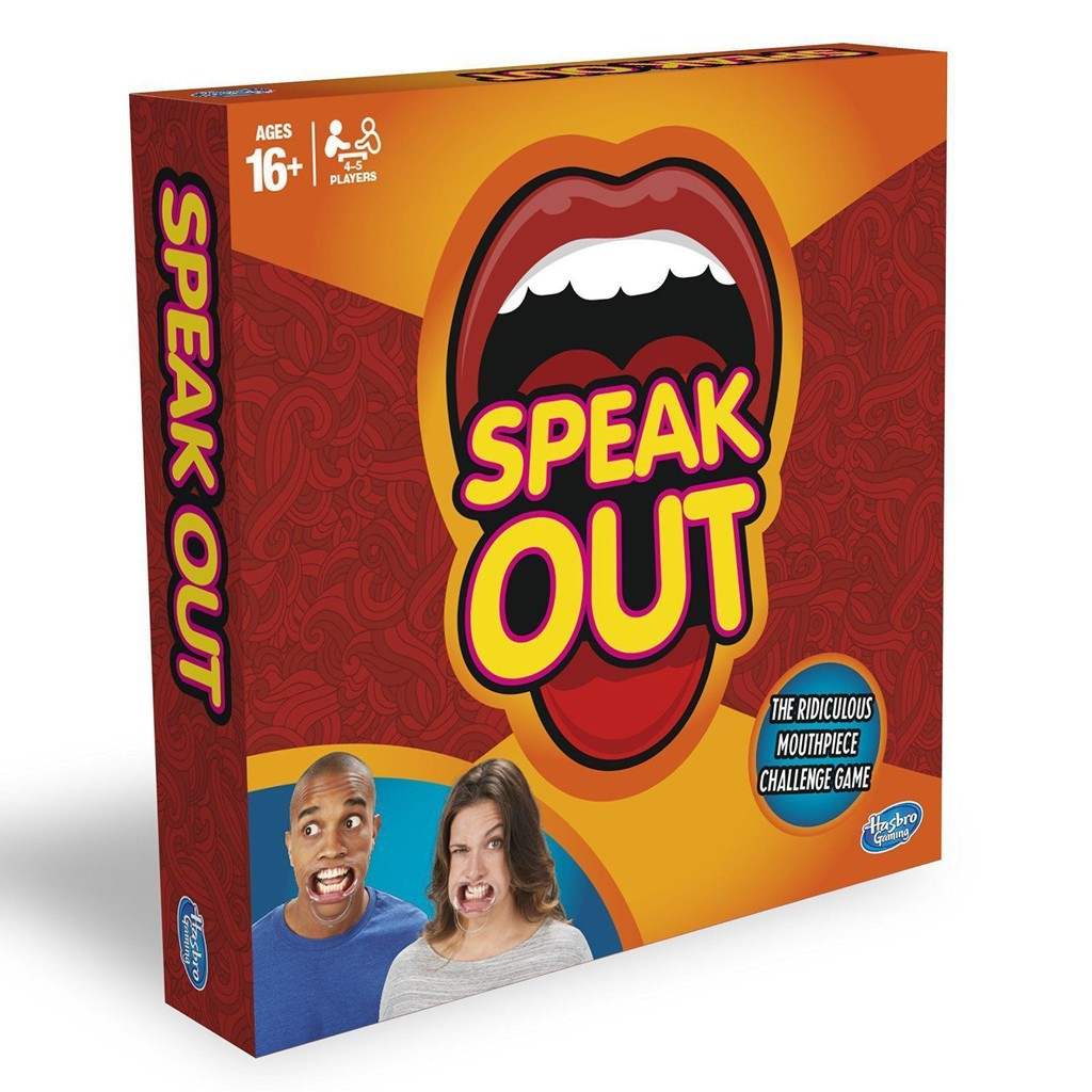 Speak Out Card Board Game Party Funny Game Entertainment Children Adult Toys