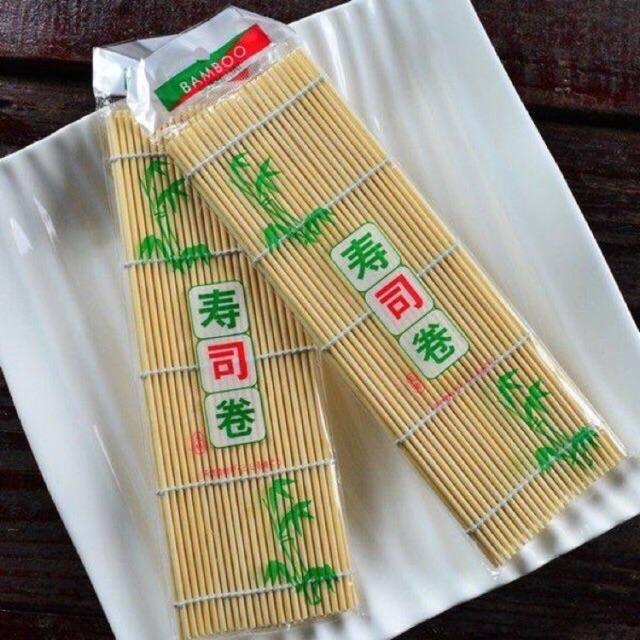 Màng tre cuộn cơm kimbap, shushi