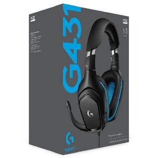 Tai nghe chụp tai Gaming Logitech G431 7.1 Đen Xanh – Hàng chính hãng