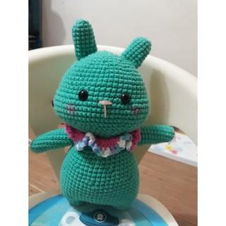 Thỏ lùn nhồi bông handmade
