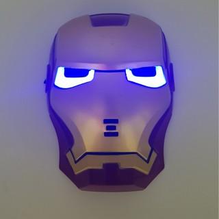 [shop pikachu.vn] Mặt nạ người sắt IRON MAN có đèn
