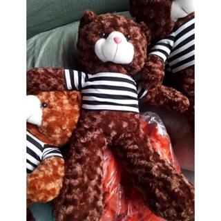 Gấu bông Teddy khổ 80cm Bông gòn VNXK (Ktra hàng trước khi ttoán )ảnh thật 100%