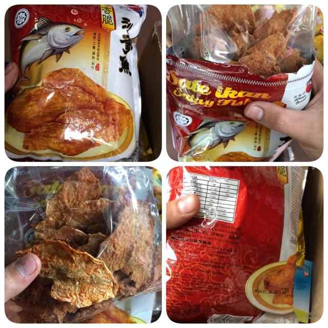 |Snack|Cá Mối Sấy SaTe WhaleBrand 100g