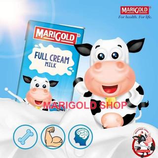 (NGOCM7K Giảm 7K) Sữa tiệt trùng MARIGOLD nguyên kem không đường thùng 24 hộp 200ml