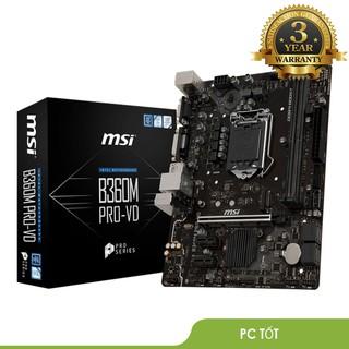 Mainboard MSI B360M PRO-VD-BH 36 T thumbnail