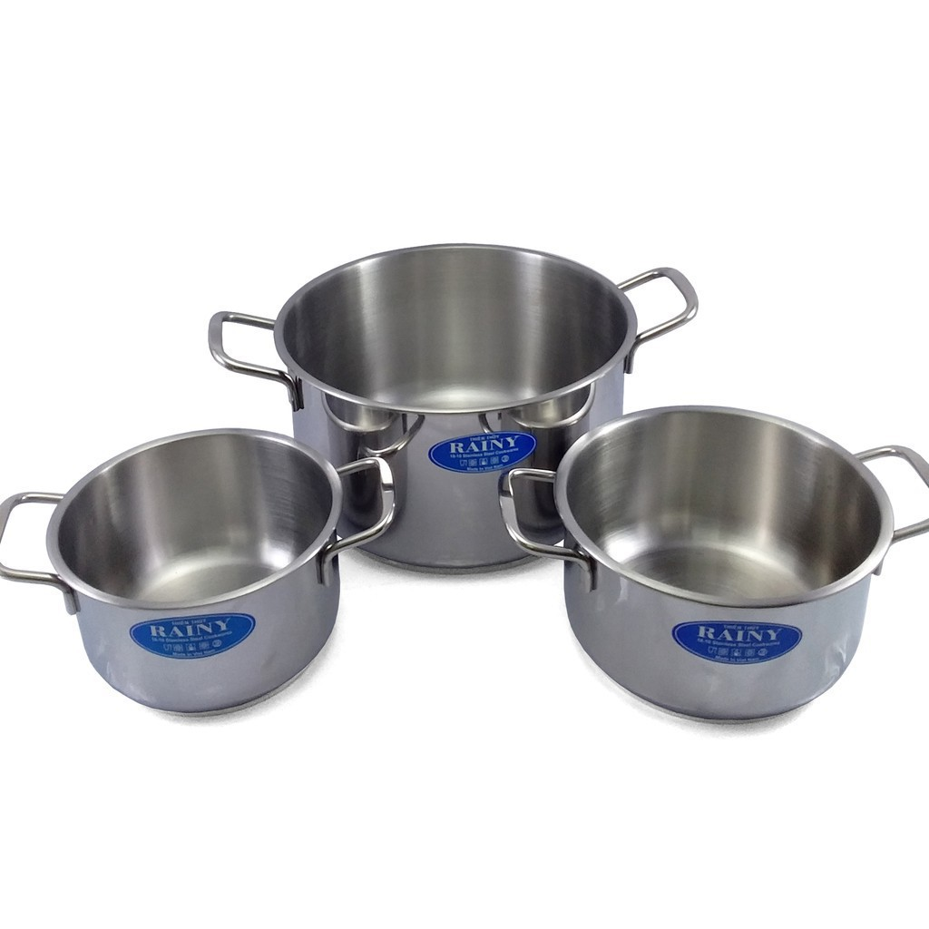 Sale Off -  Bộ 3 nồi inox 3 đáy Rainy nắp kính cao cấp (XTT-RN06-3DK) - 14886273 , 2660917005 , 322_2660917005 , 840000 , Sale-Off-Bo-3-noi-inox-3-day-Rainy-nap-kinh-cao-cap-XTT-RN06-3DK-322_2660917005 , shopee.vn , Sale Off -  Bộ 3 nồi inox 3 đáy Rainy nắp kính cao cấp (XTT-RN06-3DK)
