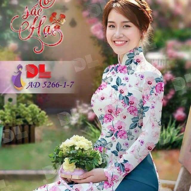 Vải áo dài hoa nhí - 3142503 , 1269838862 , 322_1269838862 , 220000 , Vai-ao-dai-hoa-nhi-322_1269838862 , shopee.vn , Vải áo dài hoa nhí