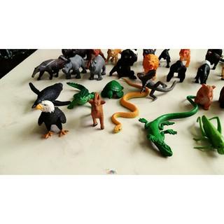 [rẻ nhất vn ] Bộ 36 con vật safari, Mô hình động vật Safari, đồ chơi động vật safari – siêu dễ thương