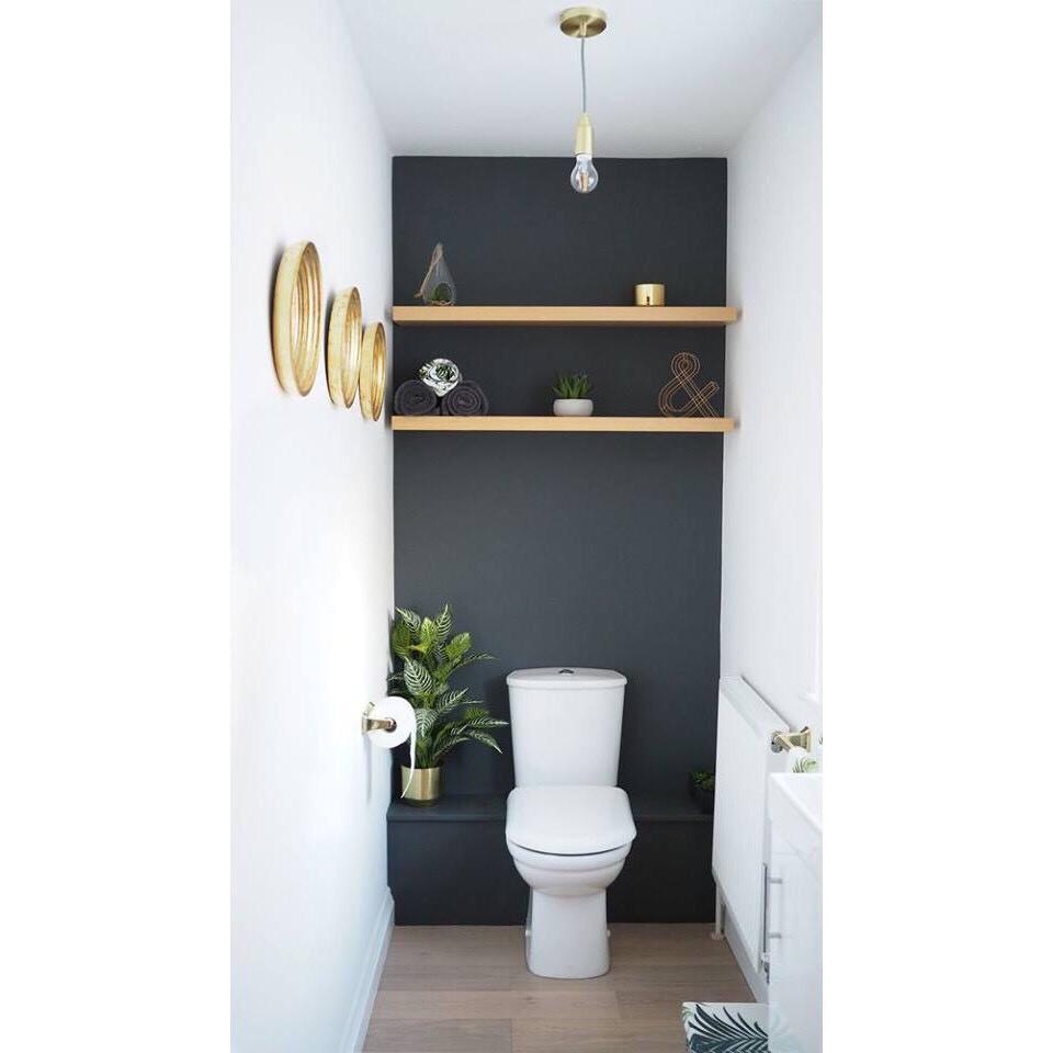 giá rẻ kệ gỗ treo tường 80cmx13cm