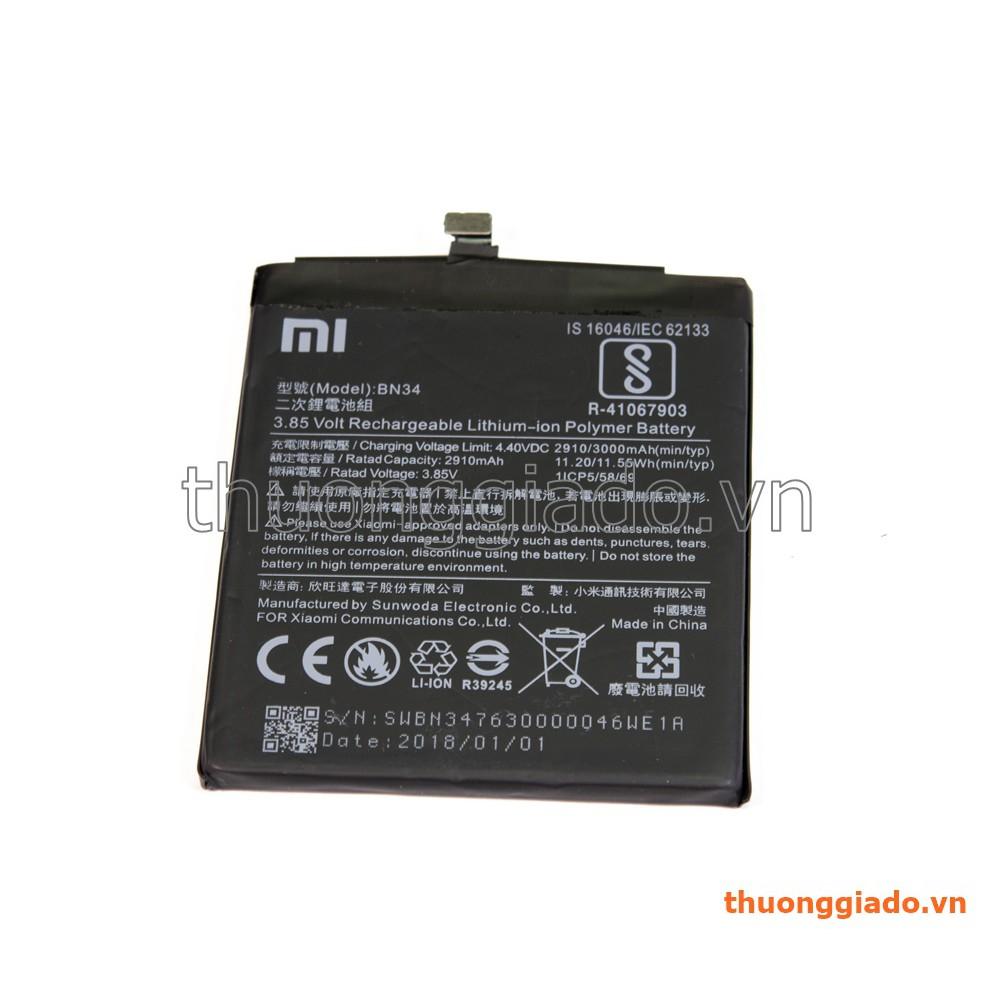 Thay pin Xiaomi Redmi 5A/ BN34 (3000mAh) Lithium-ion Polymer battery - 3412827 , 1328565421 , 322_1328565421 , 220000 , Thay-pin-Xiaomi-Redmi-5A-BN34-3000mAh-Lithium-ion-Polymer-battery-322_1328565421 , shopee.vn , Thay pin Xiaomi Redmi 5A/ BN34 (3000mAh) Lithium-ion Polymer battery