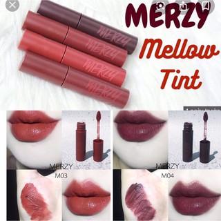 [HOT NEW] Son Kem Lì, Siêu Mịn Merzy Bite The Beat Mellow Tint