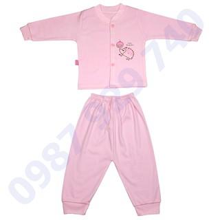 Bộ quần áo thu đông cao cấp chất nỉ mềm mịn cho bé trai, bé gái từ 3-13kg -1BNM bộ quần áo cho bé, quần áo thu đông