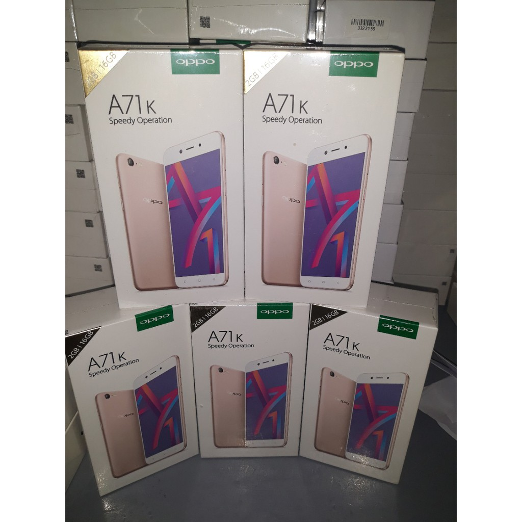 Điện thoại Oppo A71K (Combo 5 máy) - Hàng chính hãng - Bảo hành 12 tháng - 3369901 , 1296043267 , 322_1296043267 , 13150000 , Dien-thoai-Oppo-A71K-Combo-5-may-Hang-chinh-hang-Bao-hanh-12-thang-322_1296043267 , shopee.vn , Điện thoại Oppo A71K (Combo 5 máy) - Hàng chính hãng - Bảo hành 12 tháng