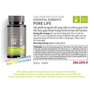 Thực phẩm bổ sung chất xơ, hỗ trợ tiêu hóa, giúp nhuận tràng, hạn chế táo bón. Essential Sorbents Pure Life. Siberian thumbnail