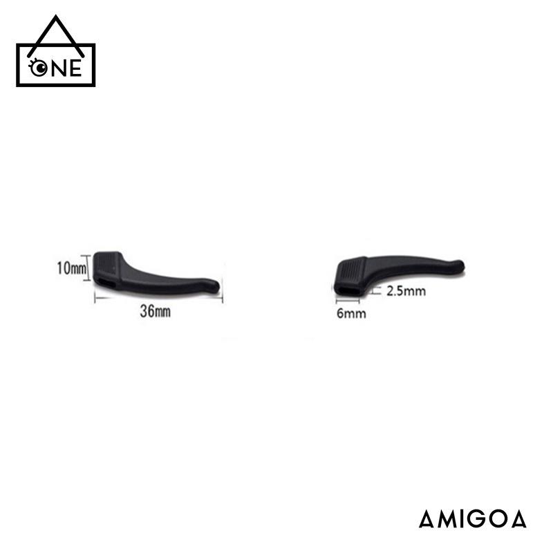 Móc silicon gắn tai chống trượt khi đeo gọng kính tiện dụng chất lượng cao