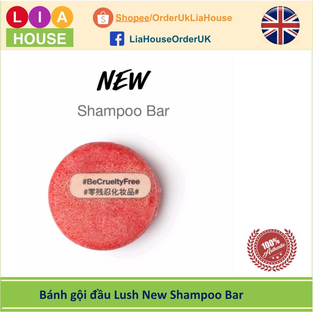 Bánh gội đầu Lush New Shampoo Bar