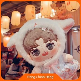 [Hỗ trợ giá] Mũ cừu cho doll 15cm và 20cm