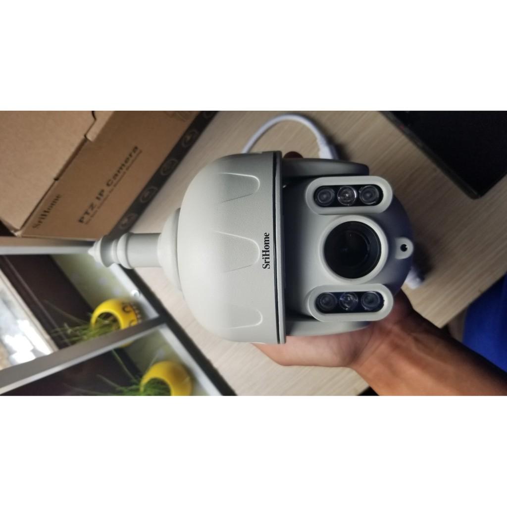 Camera Srihome SH028 3.0 MP 1296 Pixel - Tiếng Việt - Ngoài Trời Chống Nước - BH 24 Tháng