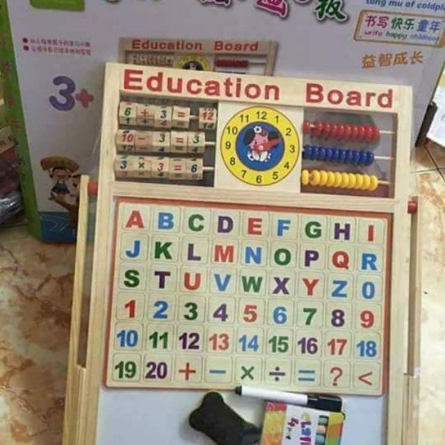 Bảng tính 2 mặt đa năng bằng gỗ kèm bộ chữ số gắn nam châm - 3453885 , 717110477 , 322_717110477 , 115000 , Bang-tinh-2-mat-da-nang-bang-go-kem-bo-chu-so-gan-nam-cham-322_717110477 , shopee.vn , Bảng tính 2 mặt đa năng bằng gỗ kèm bộ chữ số gắn nam châm