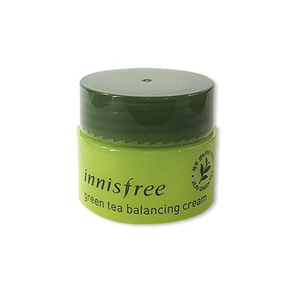 [Mini 5g] Kem Dưỡng Da Trà Xanh Innisfree Green Tea Balancing Cream (Da Hỗn Hợp)