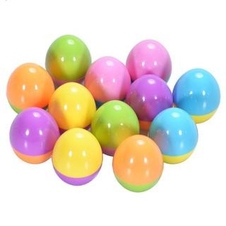 12Pcs Children Kid Happy Easter Egg Stamper Toy Set for Party Game Gift